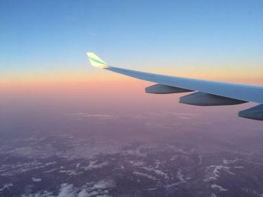 Plane to Bangkok
